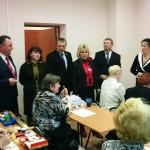Глава города Е.Шулепов и депутаты областного Зак собрания в УТВ