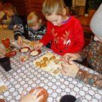 Новогодние козули с внуками